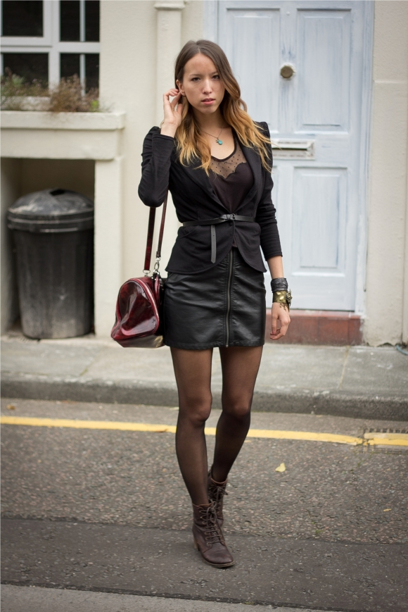 Back to Black Fetish Trend Outfit