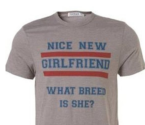 Top Man What Breed is She T-Shirt