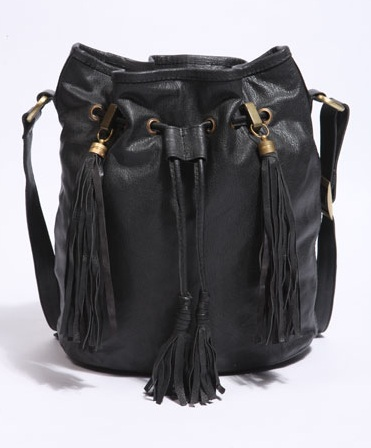 Urban Outfitters Leather Bucket Bag