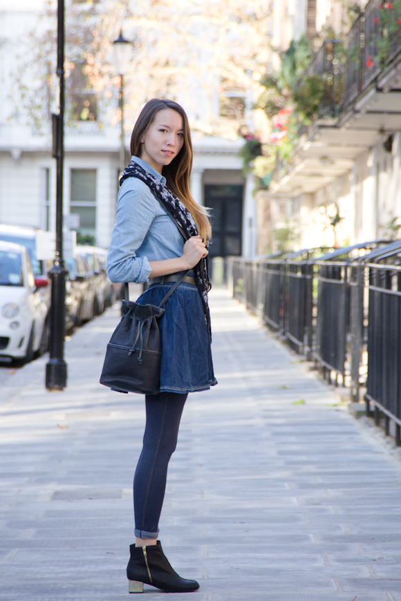 Triple Denim Outfit
