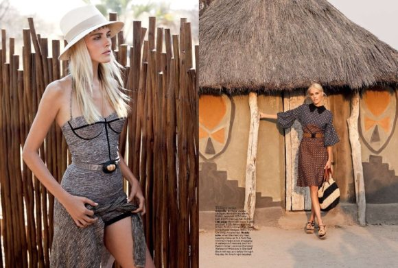 Isabel Lucas Vogue Australia