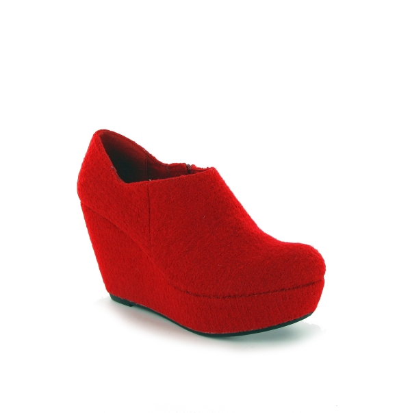 Rocket Dog LEX boiled wool red