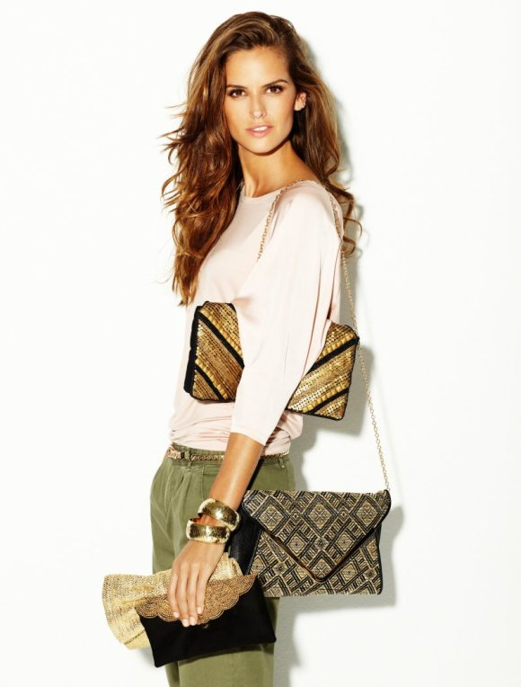 Izabel Goulart for Blanco SS12